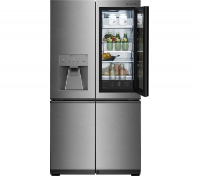 Save £820 at Currys on LG Signature LSR100 Smart 60/40 Fridge Freezer - Stainless Steel, Stainless Steel