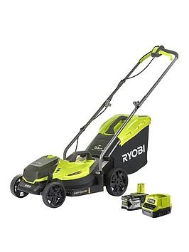 Save £30 at Very on Ryobi Rlm18X33B40 18V One+ Cordless 33Cm Lawnmower Starter Kit (1 X 4.0Ah)