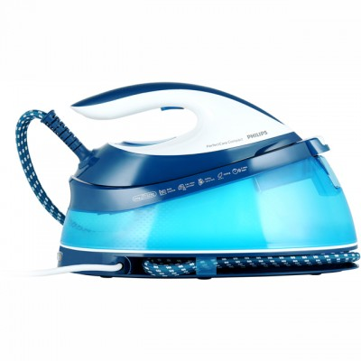 Save £26 at AO on Philips PerfectCare Compact GC7805/20 Pressurised Steam Generator Iron - Blue