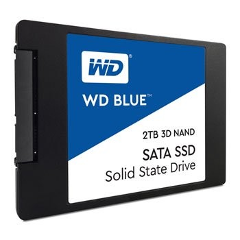 Save £25 at Scan on WD Blue 2TB 3D NAND 2.5
