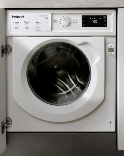 Save £65 at Argos on Hotpoint BIWMHG91484 9KG Integrated Washing Machine - White