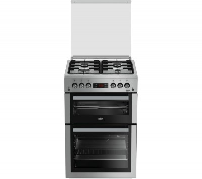 Save £50 at Currys on BEKO XDVG675NTS 60 cm Gas Cooker - Silver, Silver