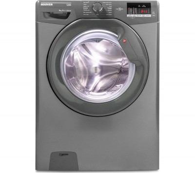 Save £70 at Currys on Hoover Link DHL 1492DR3R NFC 9 kg 1400 Spin Washing Machine - Graphite, Graphite