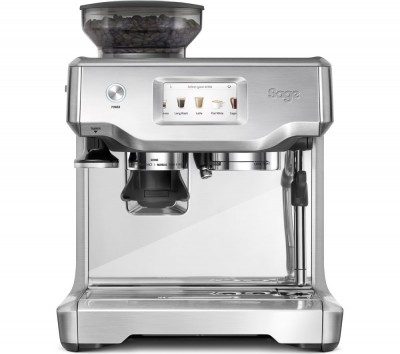 Save £120 at Currys on SAGE The Barista Touch Bean to Cup Coffee Machine - Stainless Steel & Chrome, Stainless Steel