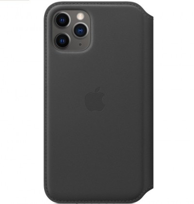 Save £33 at Ebuyer on Apple iPhone 11 Pro Leather Folio Case Black