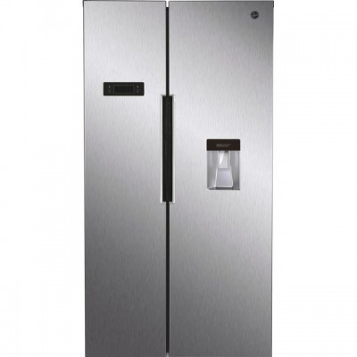 Save £70 at AO on Hoover HHSBSO6174XWDK American Fridge Freezer - Stainless Steel Effect - A++ Rated