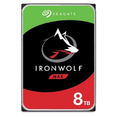 Save £138 at Ebuyer on Seagate IronWolf 8TB NAS Hard Drive 3.5 7200RPM 256MB Cache