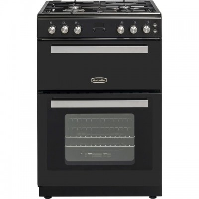 Save £50 at AO on Montpellier RMC61GOK Gas Cooker with Full Width Gas Grill - Black