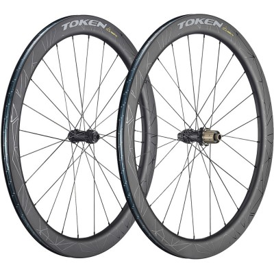 Save £125 at Wiggle on Token Konax Pro 52mm Disc All-Road Wheelset Wheel Sets