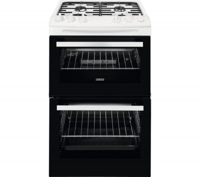 Save £110 at Currys on ZANUSSI ZCG43050WA 55 cm Gas Cooker - White, White