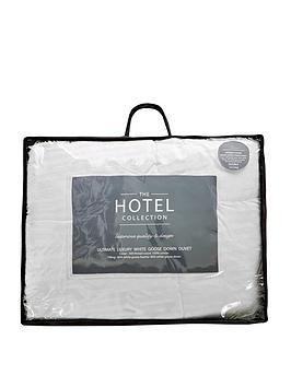 Save £16 at Very on Hotel Collection Ultimate Luxury White Goose Down 15 Tog Duvet