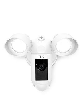 Save £51 at Very on Ring Floodlight Cam (White) - Floodlight Camera With Professional Installation