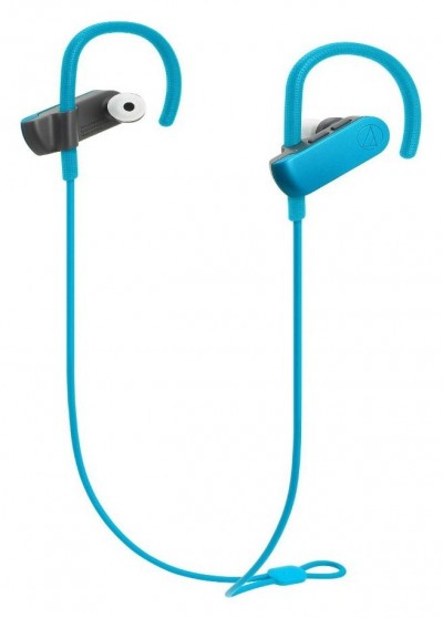 Save £15 at Argos on Audio Technica ATH SPORT50BT In-Ear Wireless Headphones-Blue