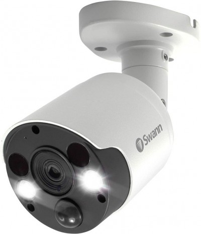 Save £12 at Ebuyer on Swann 5MP Thermal Sensing Spotlight Bullet Security Camera