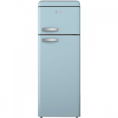 Save £98 at AO on Swan Retro SR11010BLN 80/20 Fridge Freezer - Blue - A+ Rated
