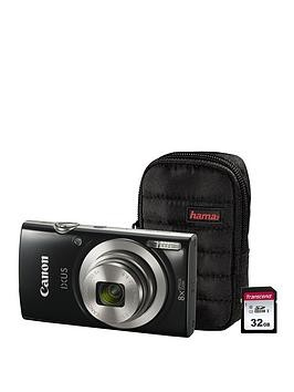 Save £41 at Very on Canon Ixus 185 Camera Kit Including 32Gb Sd Card And Case - Black