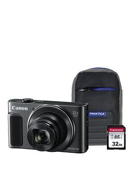 Save £50 at Very on Canon Powershot Sx620 Hs Black Camera Kit In 32Gb Sdhc Class 10 Card  Case
