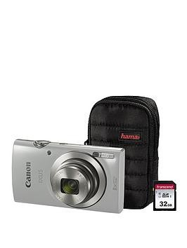 Save £41 at Very on Canon Ixus 185 Camera Kit Including 32Gb Sd Card And Case - Silver