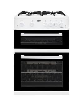 Save £50 at Very on Beko Kdg611W 60Cm Gas Cooker With Full Width Gas Grill - White