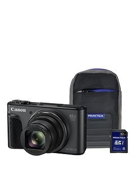 Save £40 at Very on Canon Powershot Sx730 Hs Camera Kit With 32Gb Sd Card And Case