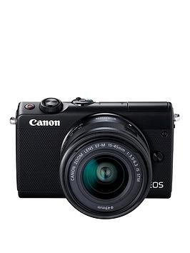 Save £60 at Very on Canon Eos M100 Csc Camera Kit Inc 15-45Mm Lens - Black