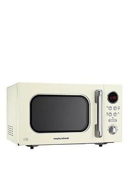 Save £25 at Very on Morphy Richards 800W 23-Litre Microwave - Cream