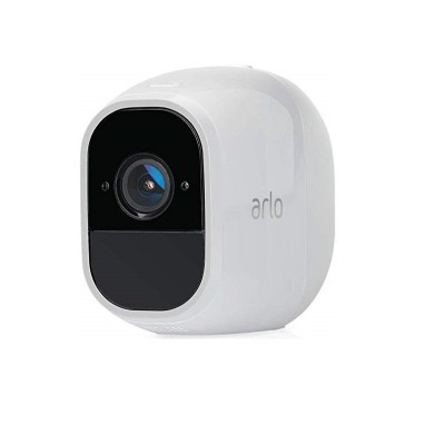 Save £62 at Ebuyer on Arlo Pro2 Smart Home Security Cameras | Alarm | Rechargeable | Night Vision | Indoor/Outdoor | 1080p | 2-Way Audio | Free Cloud Storage Included | Add on Camera - Basestation Needed | VMC4030P