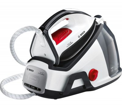 Save £70 at Currys on BOSCH Easy Comfort TDS6040GB Steam Generator Iron - White & Black, White