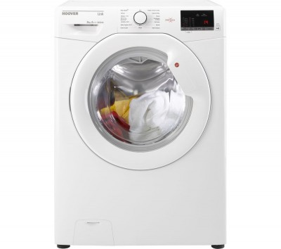 Save £51 at Currys on Hoover HL 1682D3 NFC 8 kg 1600 Spin Washing Machine - White, White