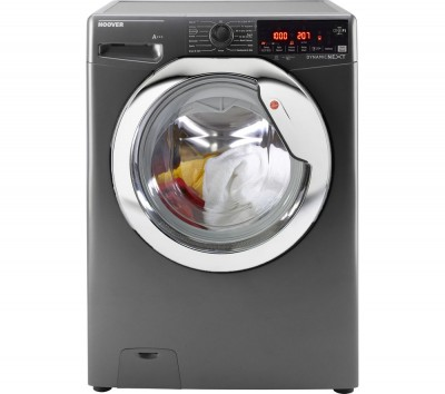 Save £50 at Currys on Hoover Dynamic DWOAD 610AHC8G WiFi-enabled 10 kg 1600 Spin Washing Machine - Graphite, Graphite