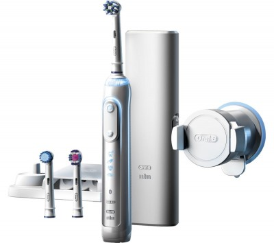 Save £40 at Currys on ORAL B Genius Pro 8000 Electric Toothbrush, White