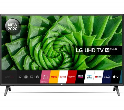 Save £50 at Currys on LG 43UN80006LC Smart 4K Ultra HD HDR LED TV