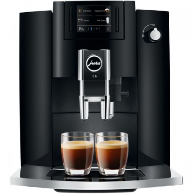 Save £116 at AO on Jura E6 15350 Bean to Cup Coffee Machine - Piano Black