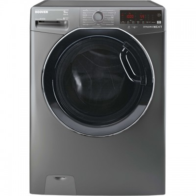 Save £79 at AO on Hoover Dynamic Next DWOAD69AHF7G Wifi Connected 9Kg Washing Machine with 1600 rpm - Graphite - A+++ Rated