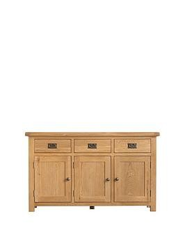 Save £100 at Very on K-Interiors Alana Ready Assembled 3 Door, 3 Drawer Sideboard