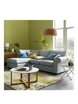 Save £160 at Very on Victoria Fabric Left Hand Corner Chaise Sofa