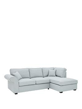 Save £160 at Very on Victoria Fabric Right Hand Corner Chaise Sofa
