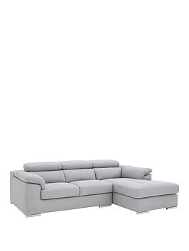 Save £300 at Very on Brady 3 Seater Right Hand Fabric Corner Chaise Sofa