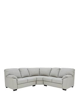 Save £150 at Very on Merkle Leather/Faux Leather Corner Group Sofa