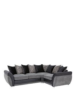 Save £200 at Very on Hilton Right-Hand Double Arm Corner Group Sofa
