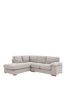 Save £280 at Very on Aylesbury Left Hand Fabric Corner Chaise Sofa