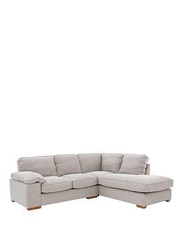 Save £280 at Very on Aylesbury Right Hand Fabric Corner Chaise Sofa