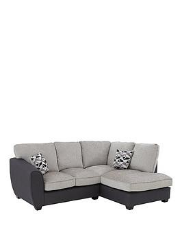 Save £240 at Very on Juno Fabric Compact Standard Right Hand Corner Chaise Sofa