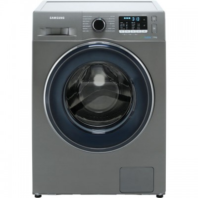Save £60 at AO on Samsung ecobubble™ WW70J5555FX 7Kg Washing Machine with 1400 rpm - Graphite - A+++ Rated