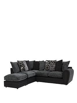 Save £820 at Very on Marrakesh Left Hand Single Arm Scatter Back Corner Group Sofa + Footstool