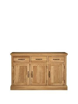 Save £50 at Very on Luxe Collection - Kingston 100% Solid Wood Ready Assembled Large Sideboard