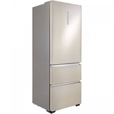 Save £100 at AO on Haier A3FE743CPJ American Fridge Freezer - Stainless Steel Effect - A++ Rated