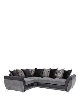 Save £200 at Very on Hilton Left-Hand Double Arm Corner Group Sofa