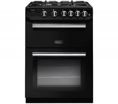 Save £80 at Currys on Rangemaster Professional 60 Gas Cooker - Black, Black