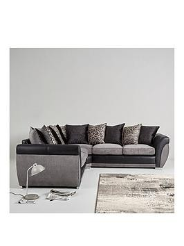 Save £200 at Very on Hilton Double Arm Corner Group Sofa